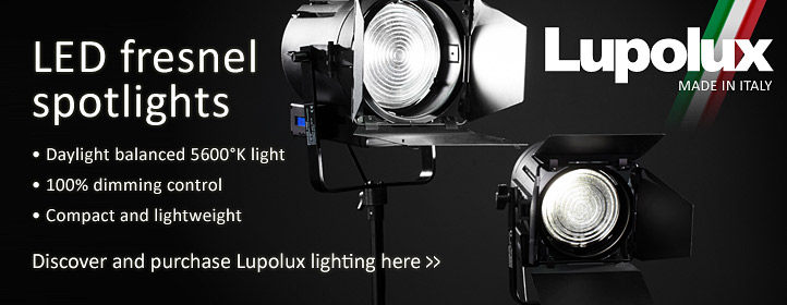 Lupolux LED Fresnel Spotlights