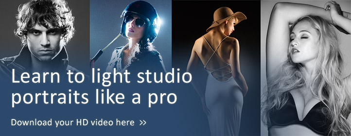 Lighting Studio Portraits - Training video by Damien Lovegrove