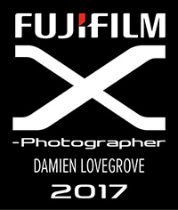 Damien Lovegrove the Fujifilm X photographer