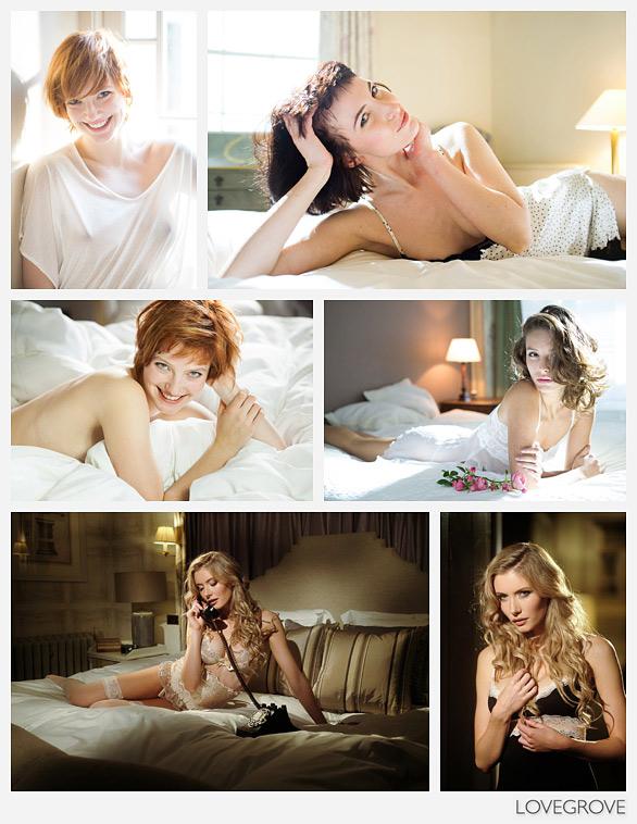 Lovegrove boudoir photoshoot