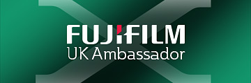 Damien Lovegrove an official Fujifilm UK Ambassador
