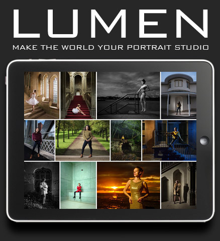 Lumen - flash photography training video by Damien Lovegrove