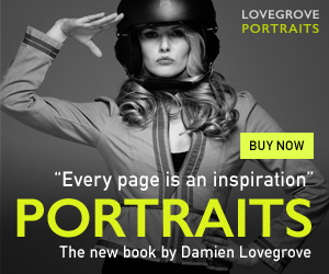 Learn the secrets of portrait photography, the new ebook by Damien Lovegrove