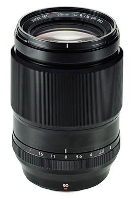 Fujifilm Fujinon XF 90mm f2 R LM WR Lens